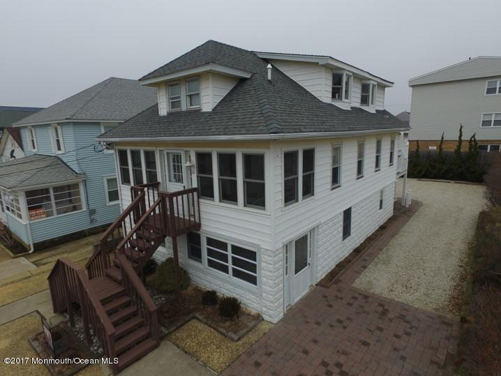 14 Decatur Avenue, Seaside Park, NJ 08752 is a completely renovated, 3-unit property in the family friendly town of Seaside Park. This home is one house from the ocean front and is within walking distance to the town and the attractions on the boardwalk. The 3 units have the best the beach can offer with wonderful views, granite countertops stainless steel appliances, insulated windows, pavers, plenty of street parking, large outdoor entertaining area, high efficient air conditioning, ceiling fans vinyl siding and much more. Meticulously maintained! Whether you want a summer home, year around residence or a rental property – you can have it all in this one of a kind residence. It must be seen to be appreciated. Owners spared no expense in renovating this home. No Sandy damage.